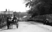 Brentwood, A Horse Carriage, Ingrave Road 1907