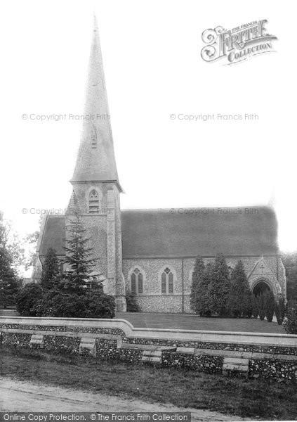 Brentwood, Bentley Church 1896