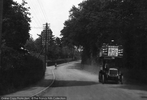 Brentwood, Brook Street Hill 1921