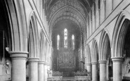 Brentwood, Church Interior 1914