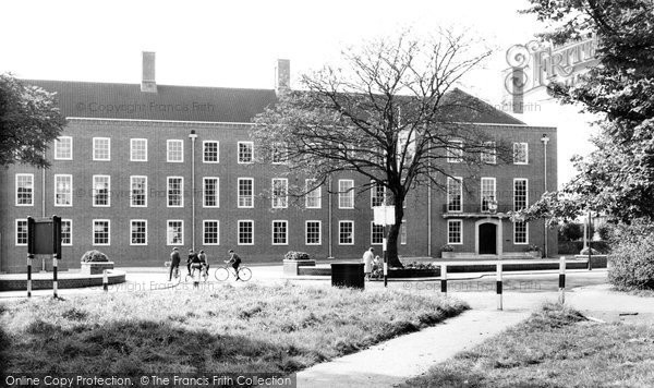 Brentwood, Council Offices c.1960