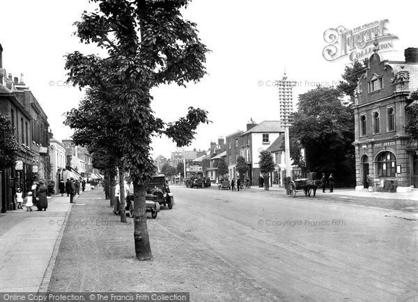 Brentwood, High Street 1921