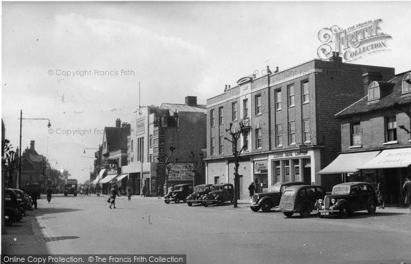Brentwood, High Street c.1950
