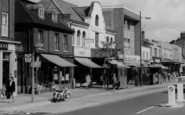 Brentwood, High Street Shops c.1965