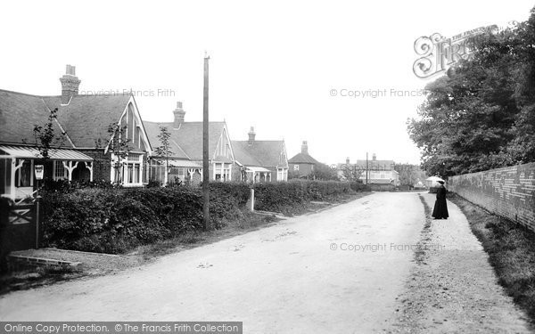 Photo of Brentwood, Ingrave Road, the Bungalows 1906