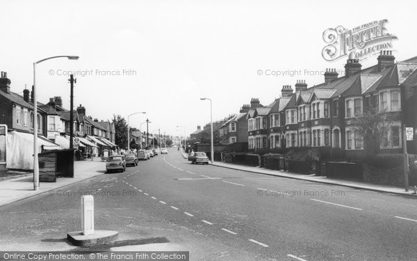 Brentwood, Ongar Road c.1965