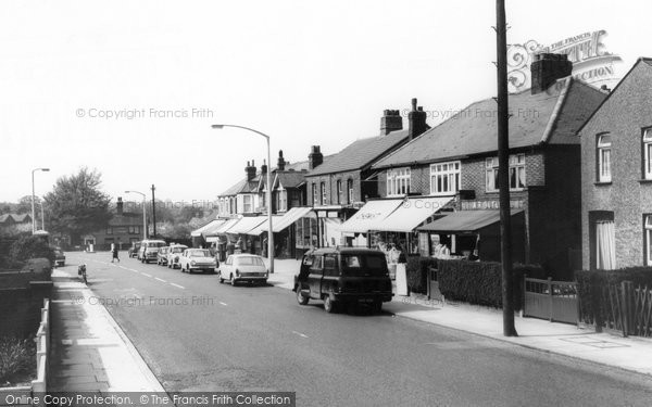 Photo of Brentwood, Ongar Road c1965