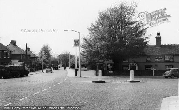 Brentwood, Ongar Road c.1965