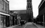 Brentwood, St Thomas's Church c.1955