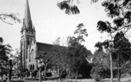 Brentwood, St Thomas's Church c.1955