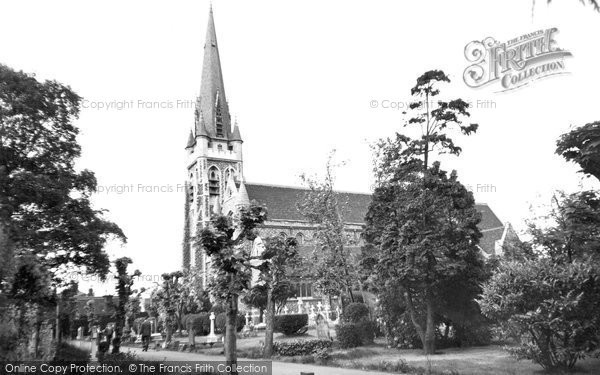 Brentwood, St Thomas's Church c.1960