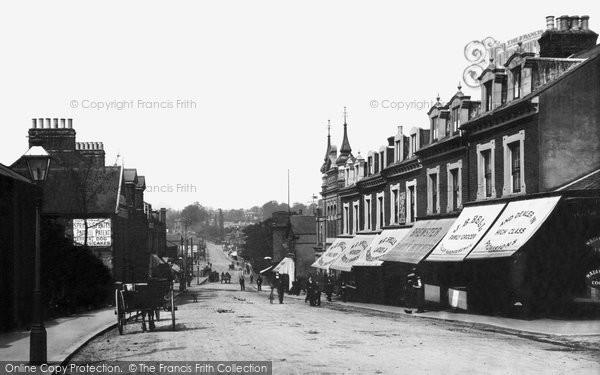 Brentwood, Warley Road 1906