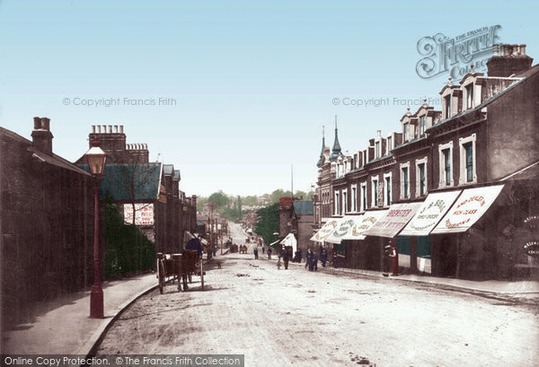 Brentwood, Warley Road 1906