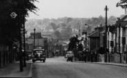 Brentwood, Warley Road c.1955