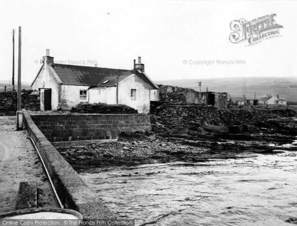 Bressay, Harbour c.1955