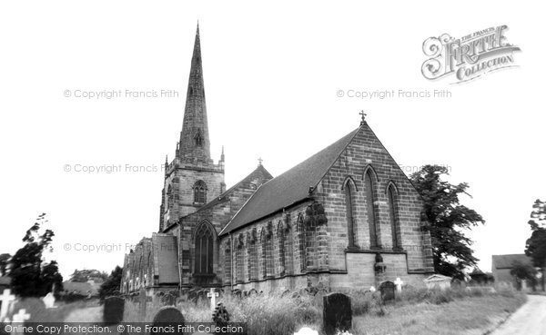 Brewood, Church Of St Mary And St Chad c.1965