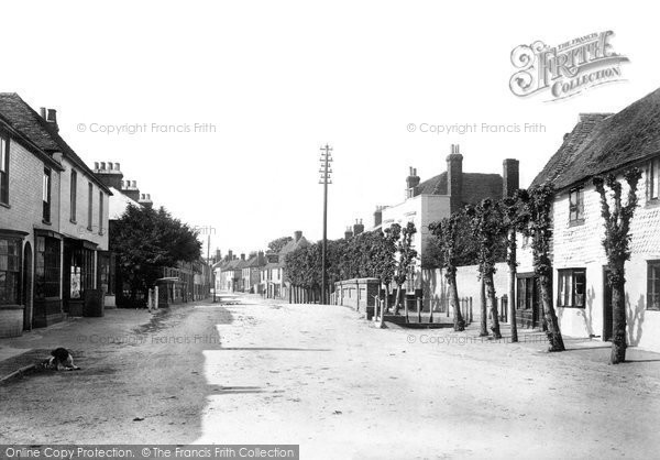 Bridge, High Street 1903