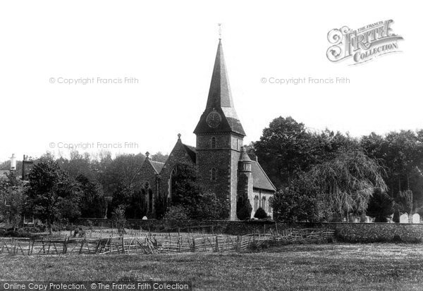 Bridge, St Peter's Church 1903