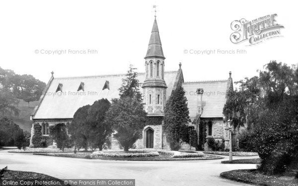 Bridgend, Asylum Church 1898