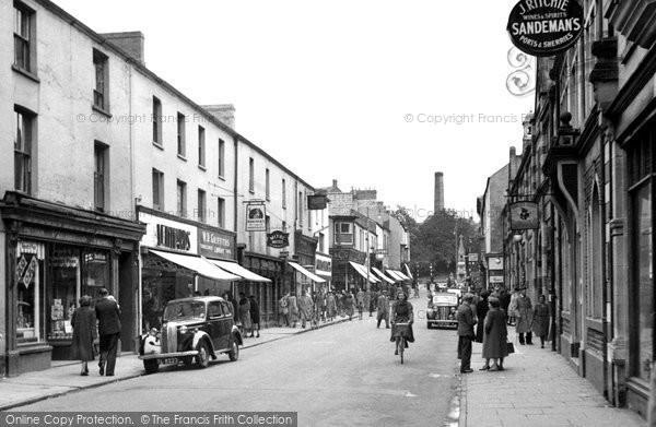 Bridgend, Caroline Street 1950
