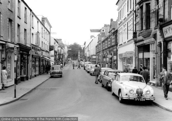 Bridgend, Caroline Street c.1960
