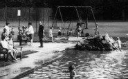 Bridgend, Families In The Park c.1965