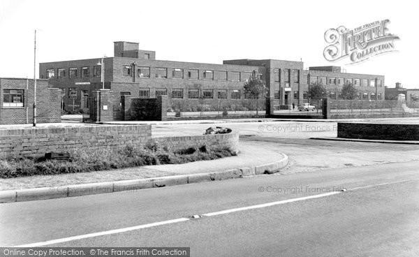 Bridgend, Glamorgan County Police Headquarters c.1955