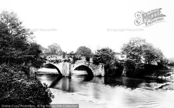 Bridgend, New Inn Bridge 1898