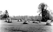 Bridgend, Newbridge Fields, The Gorsedd Stones c.1955