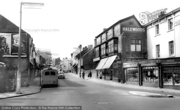 Bridgend, Nolton Street c.1960