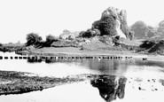 Bridgend, Ogmore Castle 1901