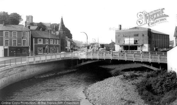 Bridgend, River Ogmore c.1965