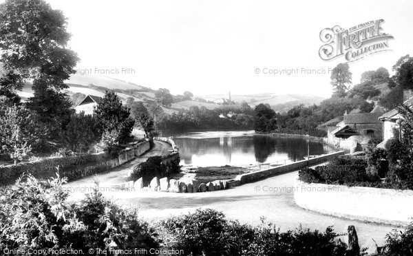 Bridgend, River Yealm 1901