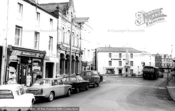 Bridgend, Town Centre c.1965