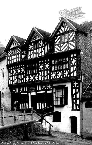 Bridgnorth, Bishop Percy's House 1896