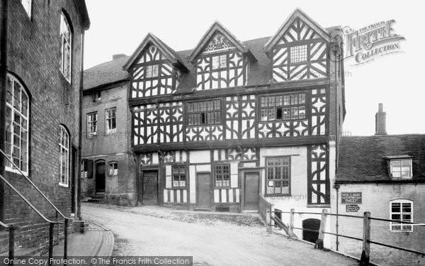 Bridgnorth, Bishop Percy's House c.1950