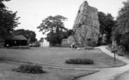 Bridgnorth, Castle Crounds c.1960