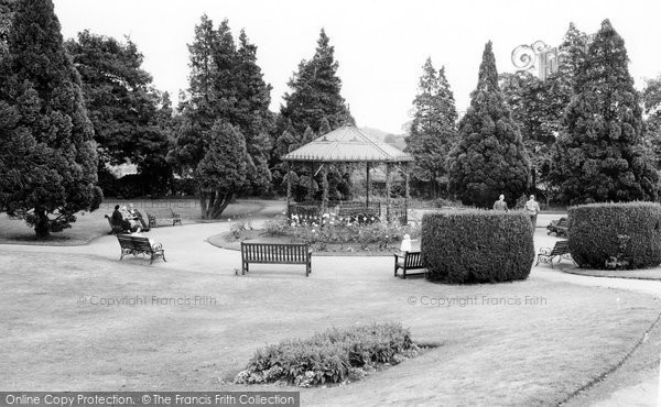 Bridgnorth, Castle Gardens c.1960