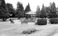 Bridgnorth, Castle Gardens c.1960