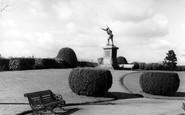 Bridgnorth, Castle Grounds c.1950