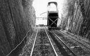 Bridgnorth, Cliff Railway c.1960