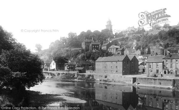 Bridgnorth, From The Bridge 1896