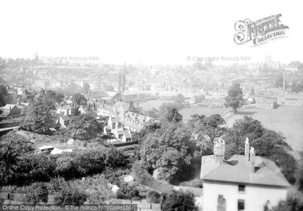 Bridgnorth, From The Croft 1898