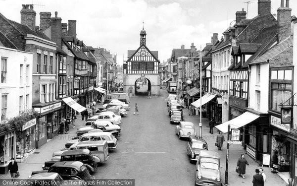 Bridgnorth, High Street c.1960