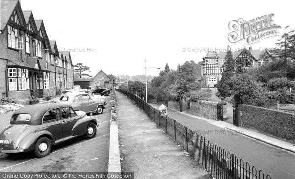 Bridgnorth, Infirmary And Grammar School c.1960