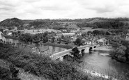 Bridgnorth, Low Town And Queens Parlour c.1965