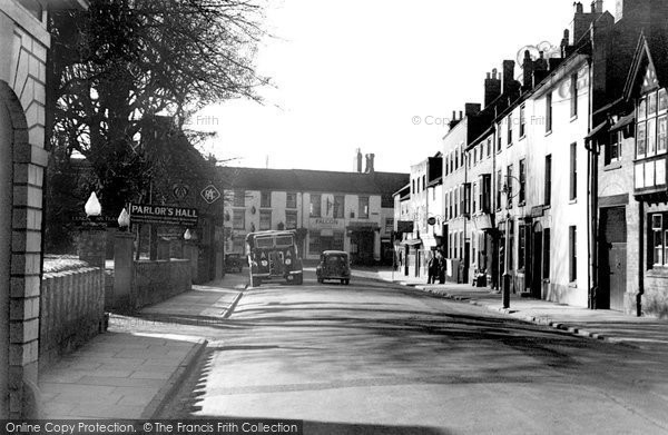 Bridgnorth, Low Town c.1950