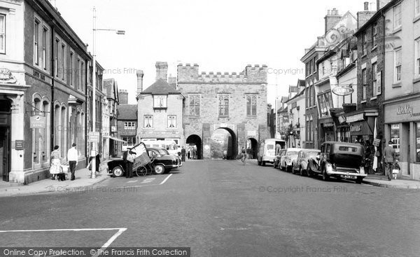 Bridgnorth, North Gate c.1960