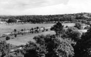 Bridgnorth, River From Castle Walk c.1960