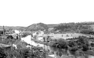 Bridgnorth, River Severn From Castle Walk c.1965